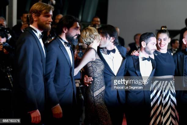 Ulrich Brandhoff Numan Acar Diane Kruger director Fatih Akin Denis Moschitto Samia Muriel Chancrin and Johannes Krisch attend the 'In The Fade '...