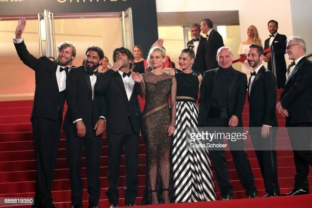 Ulrich Brandhoff Numan Acar director Fatih Akin Diane Kruger Denis Moschitto Samia Muriel Chancrin and Johannes Krisch attend the 'In The Fade '...