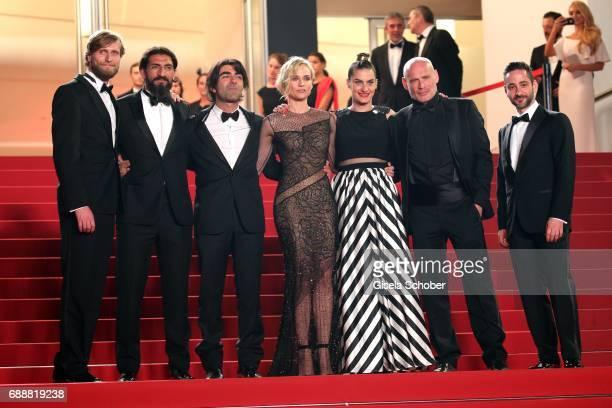 Ulrich Brandhoff Numan Acar director Fatih Akin Diane Kruger Samia Muriel Chancrin Johannes Krisch and Denis Moschitto attend the 'In The Fade '...