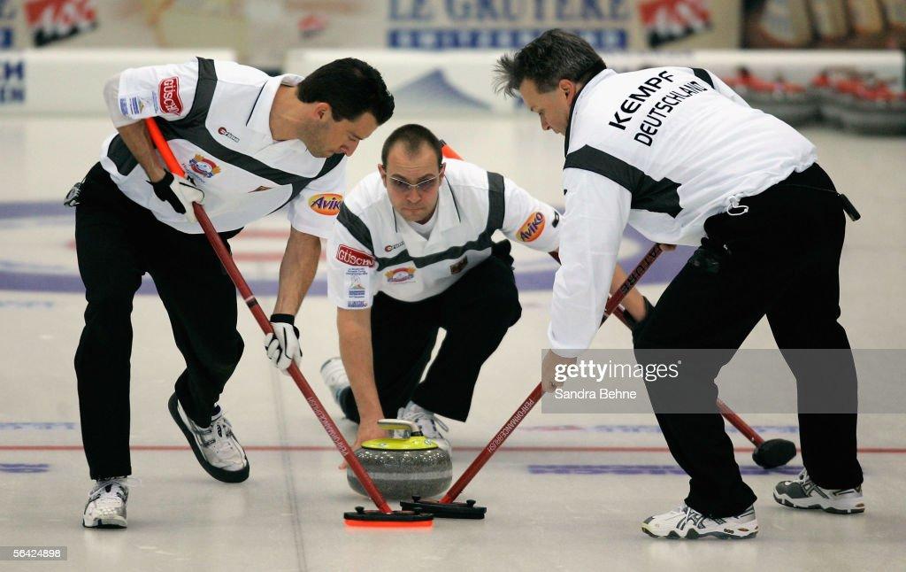 European Curling Championship 2005 : News Photo