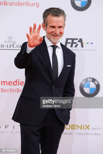 Ulrich Matthes attends the Lola German Film Award red carpet at Messe Berlin on April 27 2018 in Berlin Germany