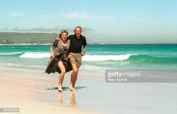 Ulrich Pleitgen und Ehefrau Monika Ausflug zum 'Kap der guten Hoffnung' Südafrika