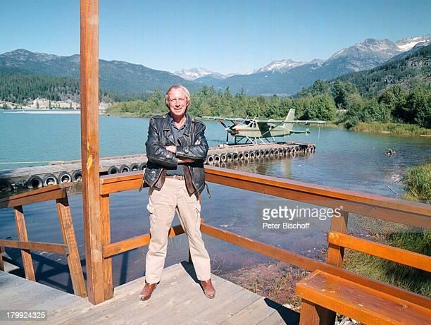 """Ulrich Pleitgen, Whistler/Kanada,;Privat/Urlaub, """"Amokfahrt zum Pazifik"""";ZDF, See,"""