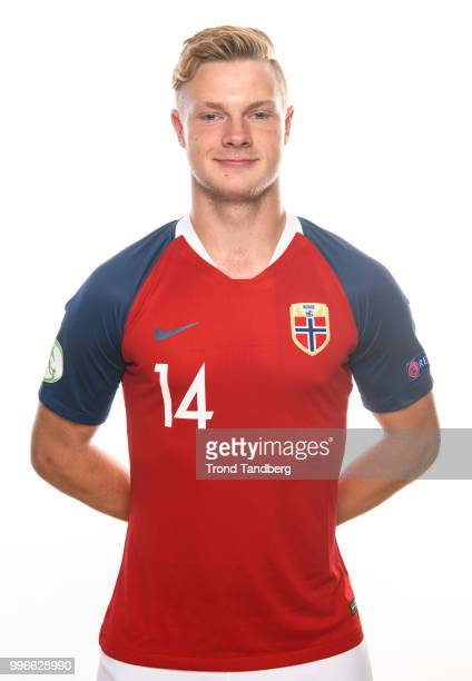 Ulrik Fredriksen of Norway during G19 Men Photocall at Thon Arena on July 11 2018 in Lillestrom Norway