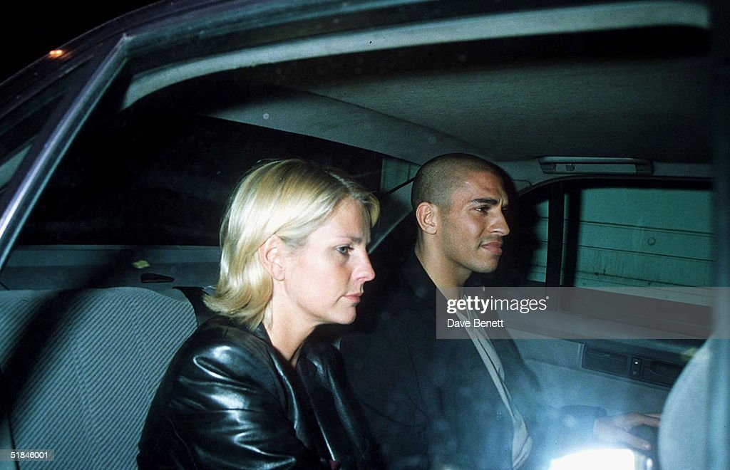 Ulrika Johnson and Stan Collymore : News Photo