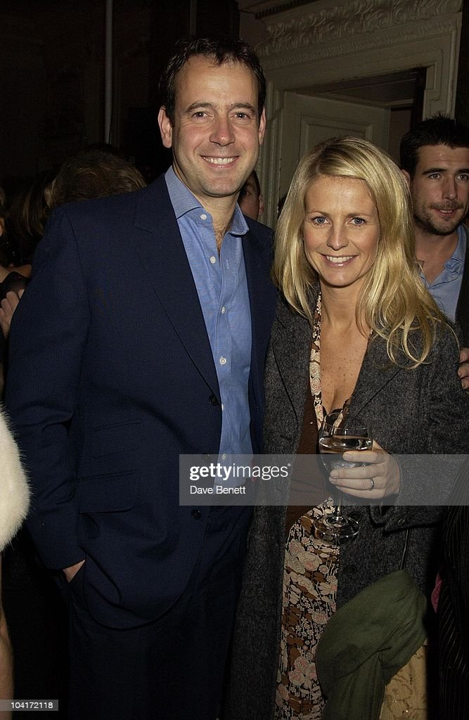 Ulrika Jonsson And Her Husband Lance Gerrard Wright, 'Love Actually' Movie Premiere After Party At The In & Out Club, London