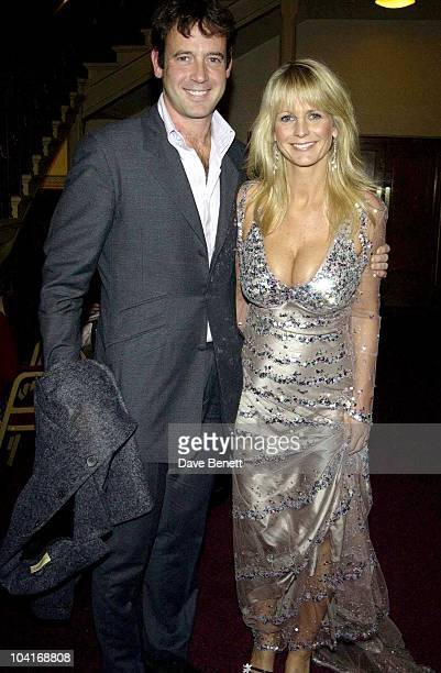 Ulrika Jonsson And Her Husband Lance Gerrard Wright The Pantene Pro V Awards 2003 At The Royal Albert Hall In London