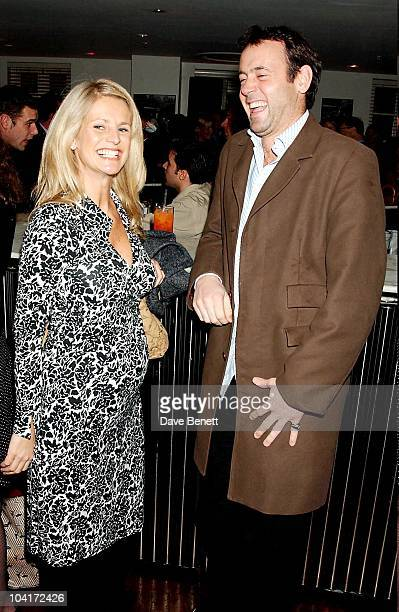 Ulrika Jonsson And Husband Lance Gerrard Wright Matthew Melon S New Shop Harrys Selling Mens Shoes Launch Party At The Fifth Floor In Harvey Nichols...