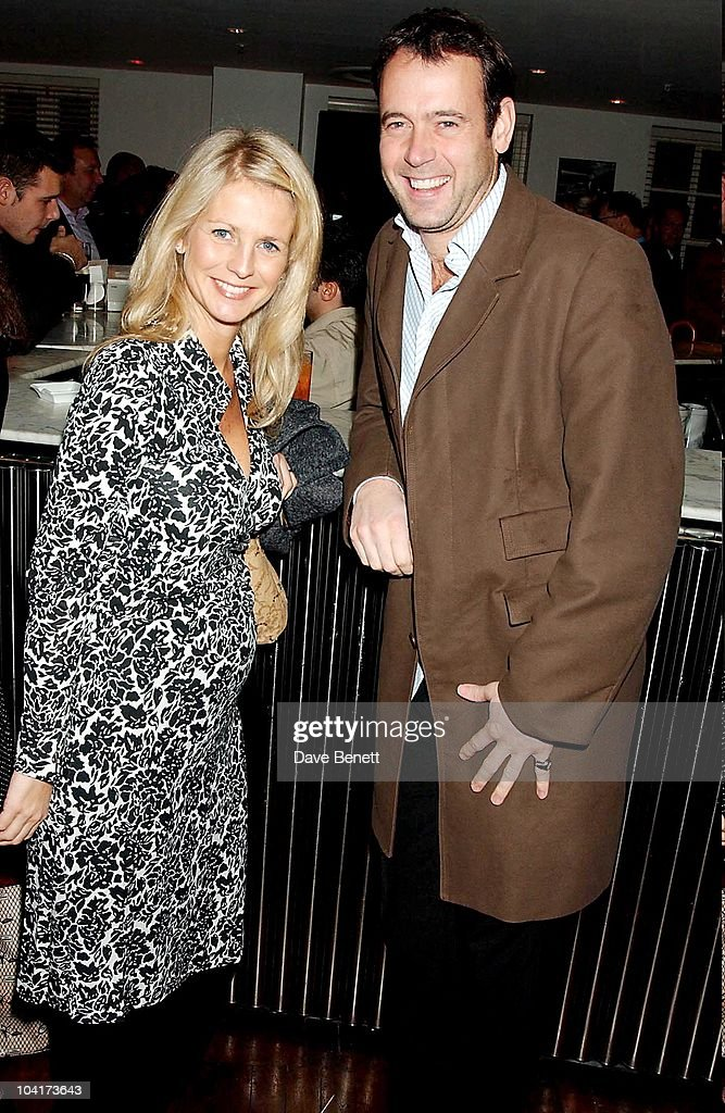 Ulrika Jonsson And Husband Lance Gerrard Wright, Matthew Melon S New Shop Harrys, Selling Mens Shoes Launch Party, At The Fifth Floor In Harvey Nichols With A Little Help From Quintesential