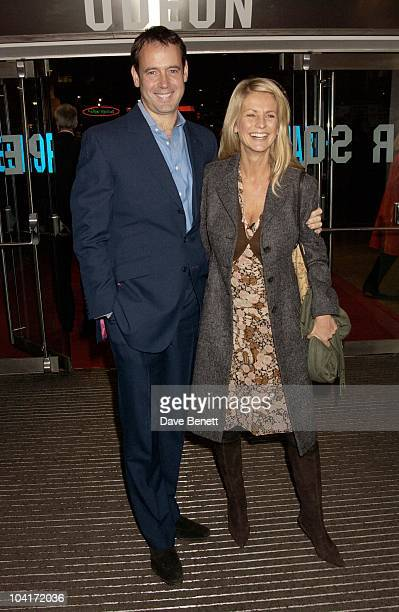 Ulrika Jonsson And Lance Gerrard Wright Love Actually Movie Premiere At The Odeon Leicester Square London