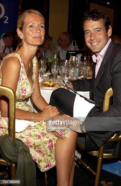 Ulrika Jonsson And Lance Gerrard Wright Silver Clef Lunch Of Behalf Of The Nordoff Robbins Music Theraphy Charity At The Hotel Intercontinental Hyde...