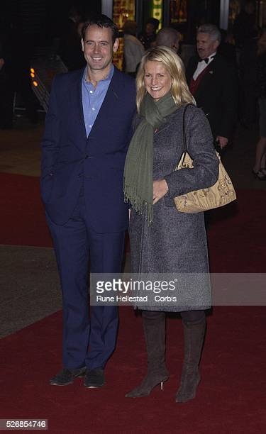 Ulrika Jonsson and Lance GerrardWright attend the premiere of Love Actually at the Odeon Leicester Square