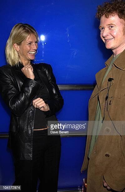 Ulrika Jonsson And Mick Hucknall Russell Crowe Oscar Nomination Cocktail Dinner Party New Giorgio Armani Shop Bond Street Supper Hakkasan London