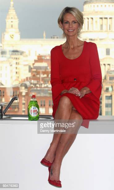 Ulrika Jonsson attends photocall to launch 'Washing up for Wishes' in aid of the Make A Wish Foundation at Tate Modern on November 29 2009 in London...