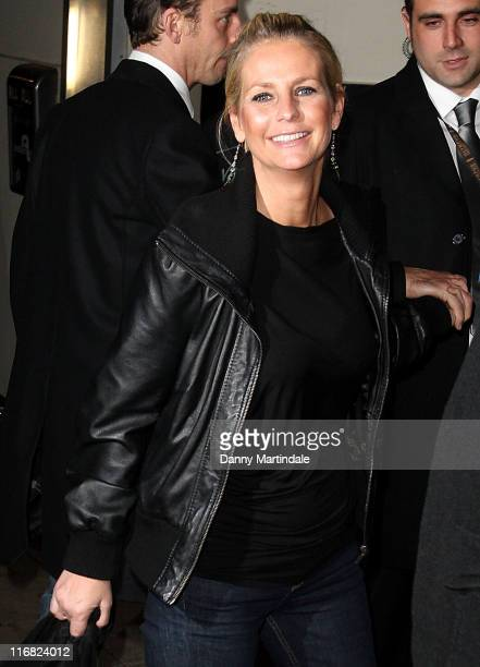 Ulrika Jonsson attends the Celebrity Big Brother Wrap Party at Sway in Holburn on January 26 2009 in London England
