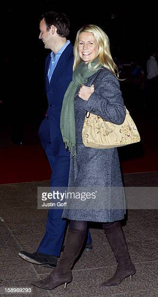 Ulrika Jonsson Attends The 'Love Actually' Premiere In London