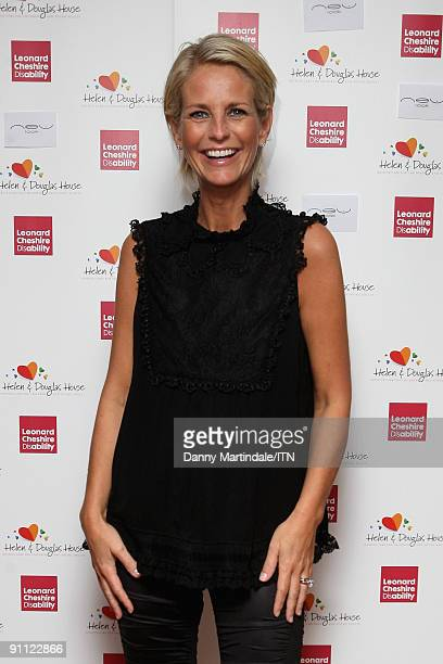 LONDON ENGLAND SEPTEMBER 24 Ulrika Jonsson attends the Newsroom�s Got Talent event held in aid of Leonard Cheshire Disability and Helen Douglas House...