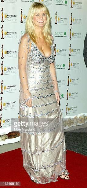Ulrika Jonsson during 2003 Pantene ProV Awards Arrivals at The Royal Albert Hall in London Great Britain