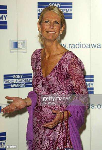 Ulrika Jonsson during 2005 Sony Radio Academy Awards at Grosvenor House Hotel in London Great Britain