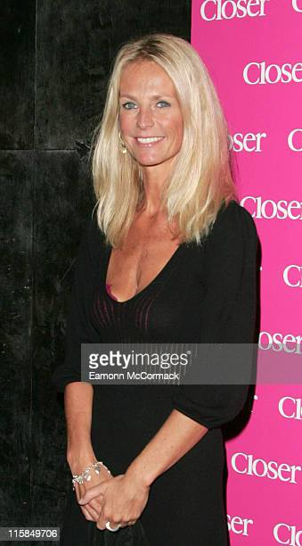 Ulrika Jonsson during Closer 4th Birthday Party in London