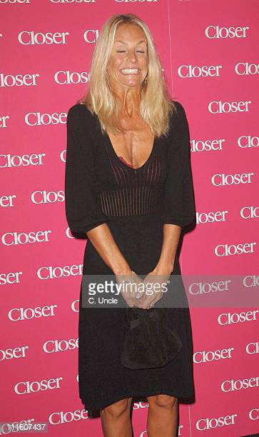 Ulrika Jonsson during Closer Magazine Fourth Birthday Party Outside Arrivals at Pangaea in London Great Britain