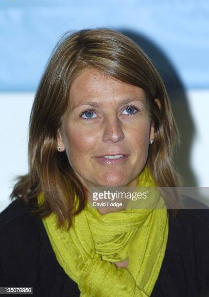 Ulrika Jonsson during Snowed Under The Bobblesberg Winter Games Photocall at ICA in London Great Britain