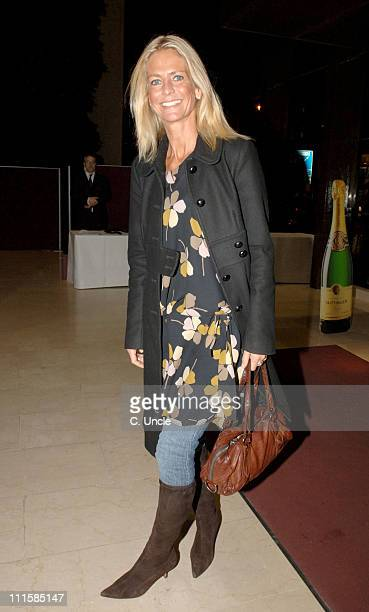 Ulrika Jonsson during Time4Women Against Hunger Reception at Coutts and Co in London Great Britain