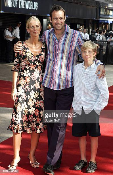 Ulrika Jonsson Family Attend The 'War Of The Worlds' Uk Premiere In London'S Leicester Square