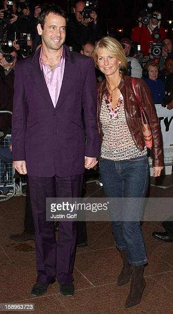 Ulrika Jonsson Lance GerrardWright Attend The Catch Me If You Can Uk Film Premiere