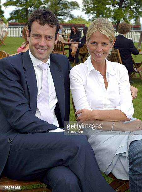 Ulrika Jonsson Lance GerrardWright Attend 'The Prince'S Polo Concert' At The Royal County Of Berkshire Polo Club Windsor