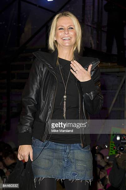 Ulrika Jonsson wins this years Celebrity Big Brother at the Big Brother House, Elstree Studios on the January 23, 2009 in Borehamwood, England.