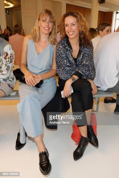 Ulrike Beck attends the Antonia Goy Defile during 'Der Berliner Mode Salon' Spring/Summer 2018 at Kronprinzenpalais on July 5 2017 in Berlin Germany