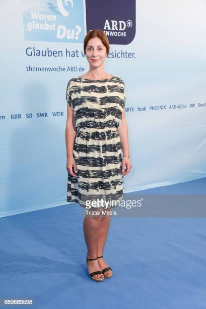 Ulrike C Tscharre during the ARD Themenwoche 2017 'Woran glaubst Du' at Soho House on May 29 2017 in Berlin Germany