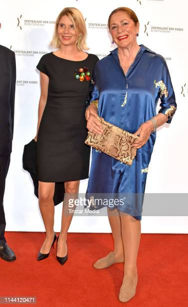 Ulrike Doepfner and Gudrun Doepfner attend the Leo Baeck Award for Matthias Doepfner on May 16 2019 in Berlin Germany