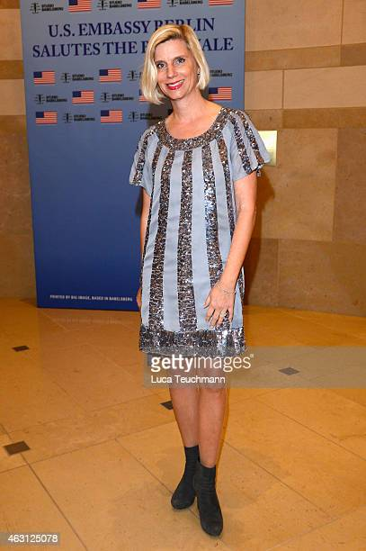 Ulrike Doepfner attends the US Reception 2015 during the 65th Berlinale International Film Festival at the Embassy of the United States on February...