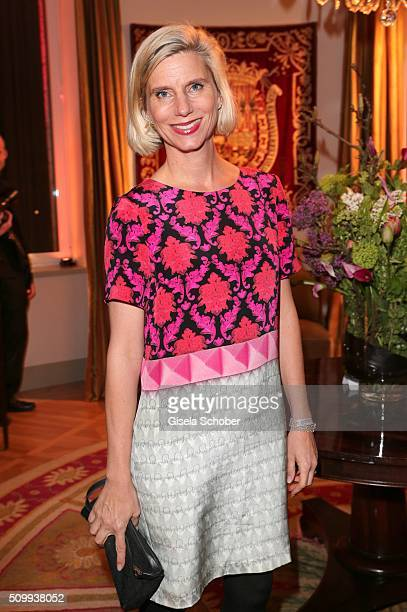 Ulrike Doepfner during the Bunte and BMW Festival Night 2016 during the 66th Berlinale International Film Festival Berlin on February 12 2016 in...