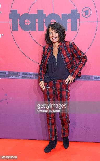 Ulrike Folkerts attends celebration event of 1000 Episodes of the crime movie 'Tatort' at Cinemaxx Dammtor on November 11 2016 in Hamburg Germany