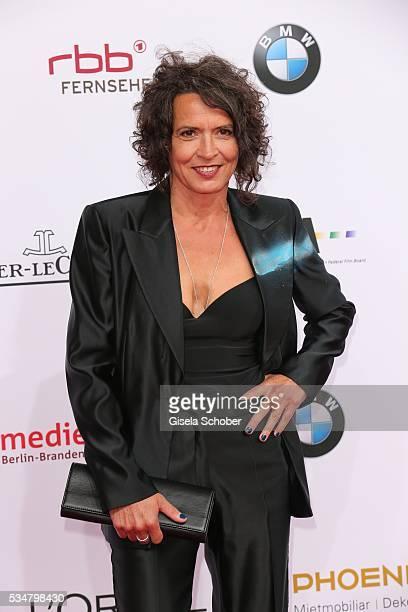 Ulrike Folkerts attends the Lola German Film Award 2016 on May 27 2016 in Berlin Germany