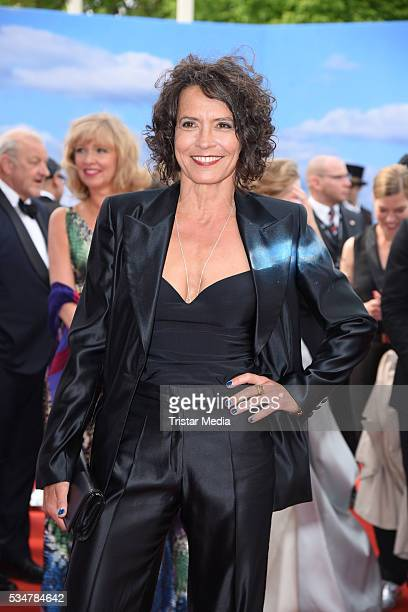 Ulrike Folkerts attends the Lola German Film Award 2016 Red Carpet Arrivals on May 27 2016 in Berlin Germany