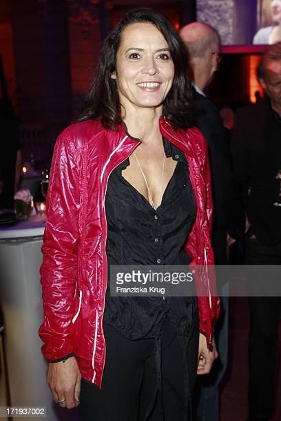 Ulrike Folkerts Bei Der Ard Blue Hour Opening Party Im Museum Für Kommunikation In Berlin