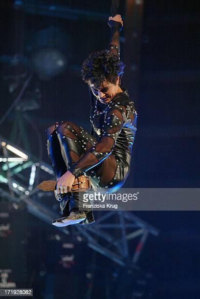 Ulrike Folkerts Bei Der Generalprobe Zu Stars In Der Manege Im Zirkus Krone In München Am 061202