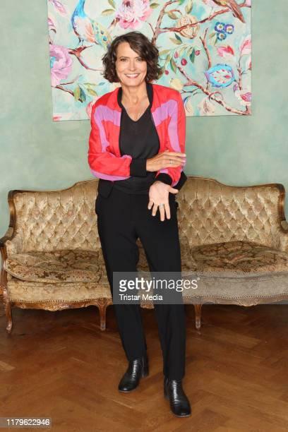 Ulrike Folkerts during the 30 Jahre Lena Odenthal Tatort set visit on October 2 2019 in Hamburg Germany