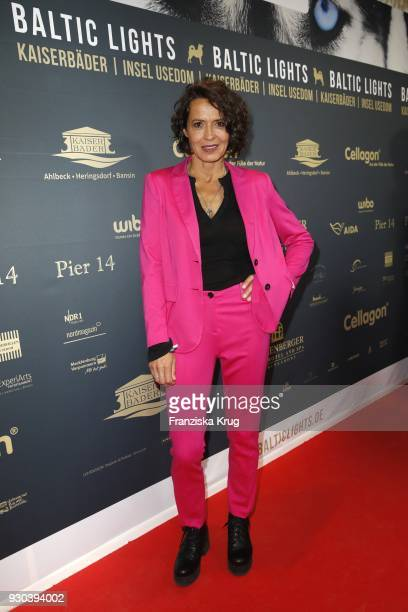Ulrike Folkerts during the 'Baltic Lights' charity event on March 10 2018 in Heringsdorf Germany The annual event hosted by German actor Till...