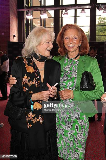 Ulrike Forster and Marina Meggle attend the 'Gala Abend mit Arthur Cohn' as part of Filmfest Muenchen 2014 at Gasteig on July 1 2014 in Munich Germany