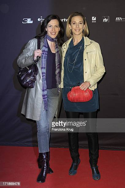 Ulrike Frank and Kristin Meyer at the premiere of film truce in Berlin