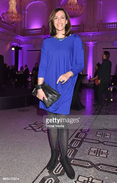 Ulrike Frank attends the exhibition opening 'Sound of Passion' at Hotel De Rome on November 30 2017 in Berlin Germany