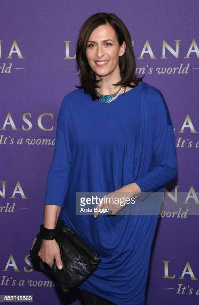 Ulrike Frank attends the the opening of the 'Sound of Passion' exhibition at Hotel De Rome on November 30 2017 in Berlin Germany