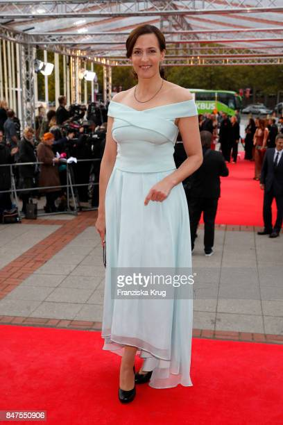Ulrike Frank attends the UFA 100th anniversary celebration at Palais am Funkturm on September 15 2017 in Berlin Germany