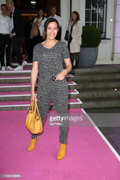 Ulrike Frank during the Ernsting's family Fashion Show 2019 on July 11 2019 in Hamburg Germany