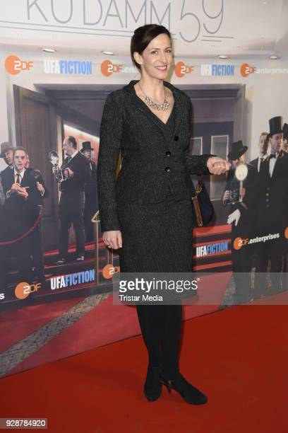 Ulrike Frank during the premiere of 'Ku'damm 59' at Cinema Paris on March 7 2018 in Berlin Germany